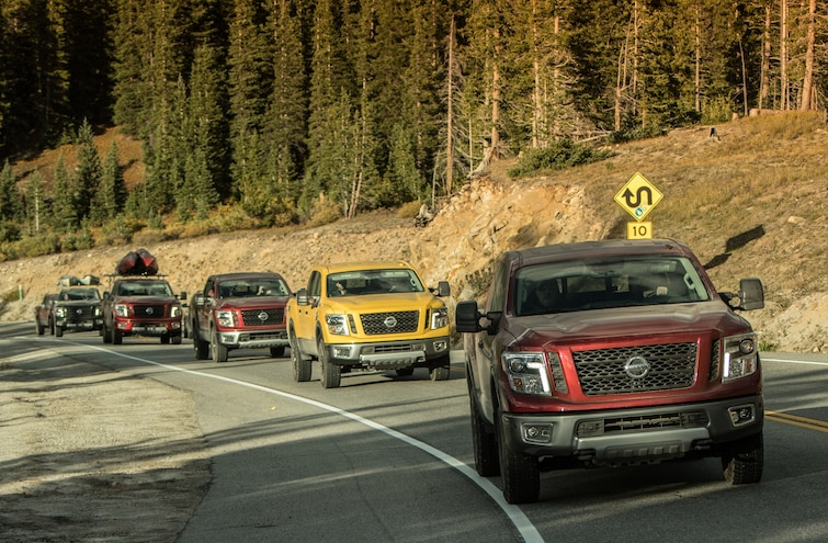 Nissan Titan Outdoor Adventure: The Driver's Seat