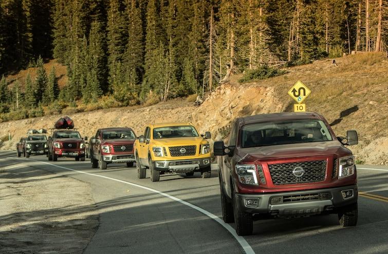 Nissan Titan Outdoor Adventure: The Driver's Seat