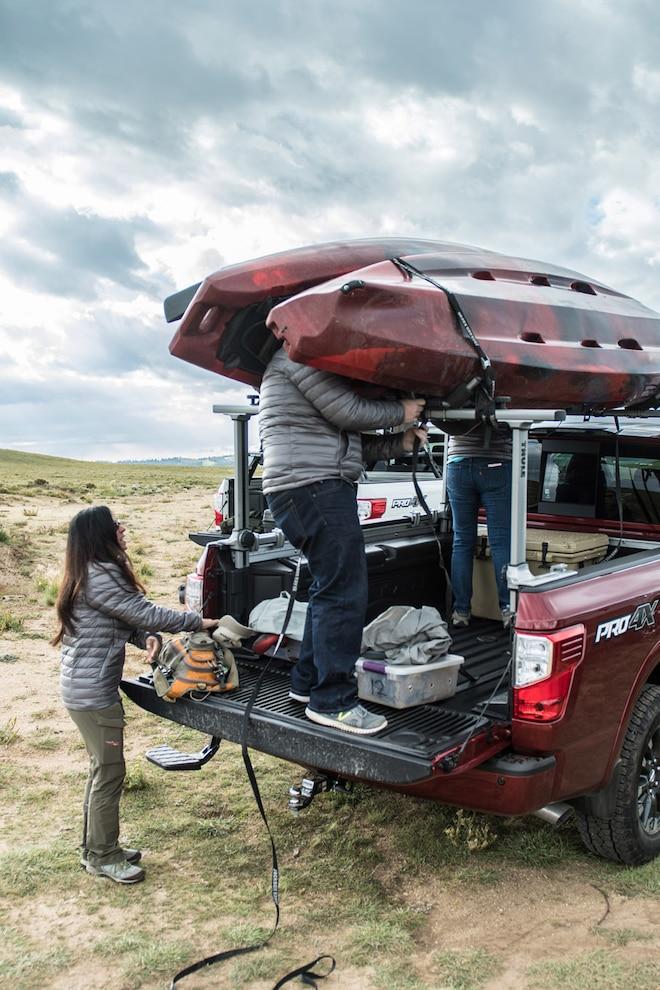Nissan Titan Outdoor Adventure Loading