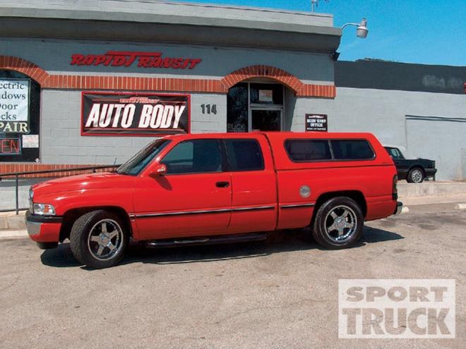 1997 Dodge Ram Djm Suspension 2 4 Lowering Kit Sport Truck Magazine