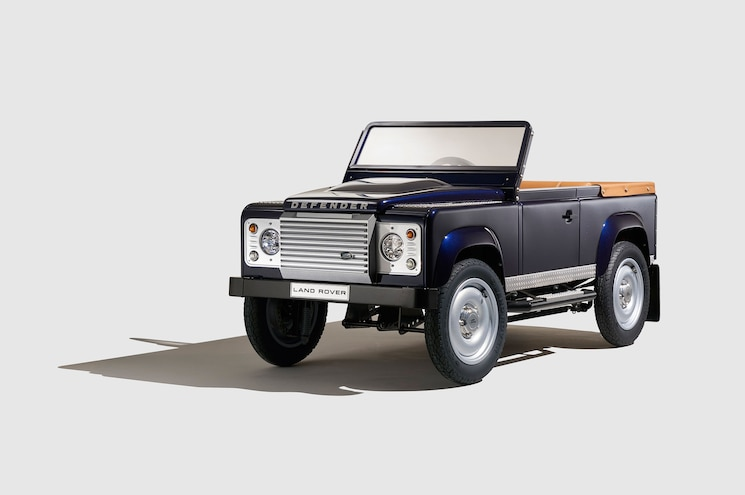 New Land Rover Defender Costs Just $15,000 (Did We Mention it's a Child's Pedal Car?)