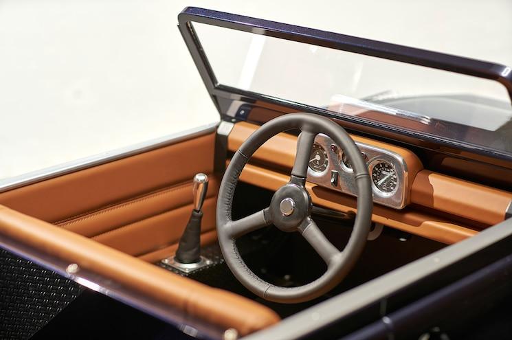 Land Rover Defender Pedal Car Interior