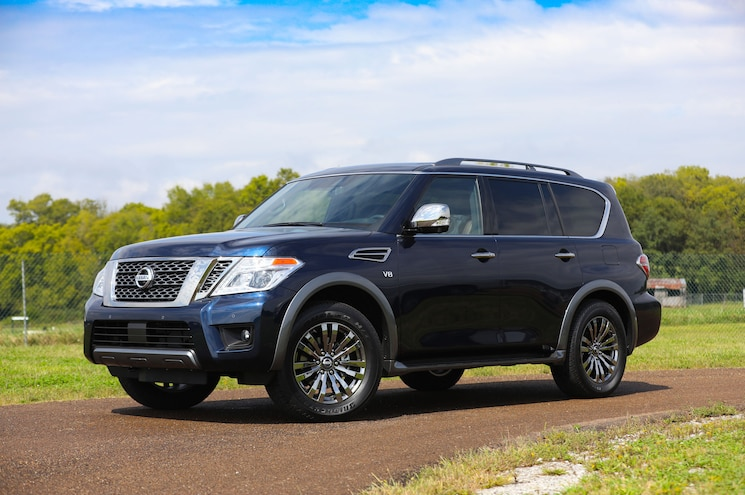 Nissan Reveals 2018 Armada Platinum Reserve at State Fair of Texas