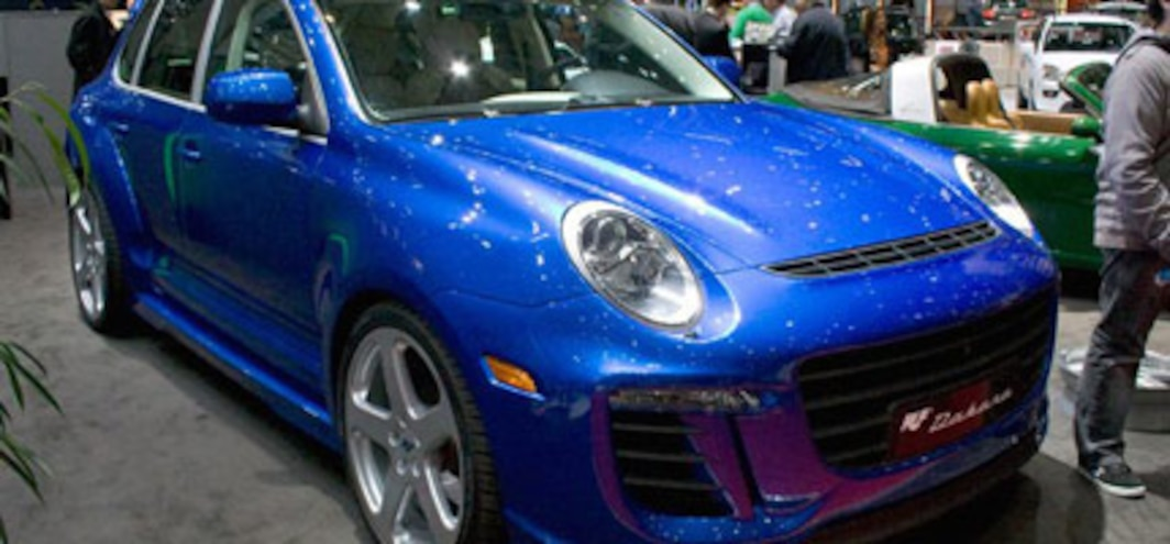The 591 Hp 327 853 Ruf Dakara When A Porsche Cayenne Turbo S Isn T Enough Auto News Truck Trend