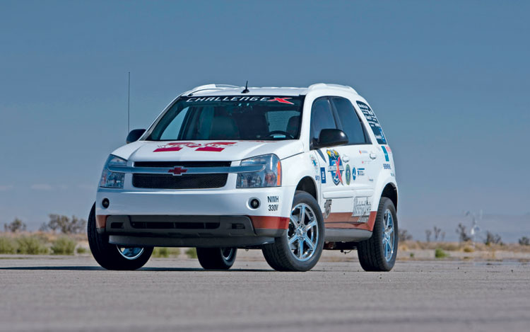 MSU's Diesel/Electric Hybrid 2005 Chevrolet Equinox - First
