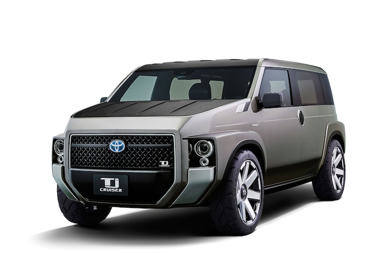 Toyota to Debut Tj CRUISER Concept at Tokyo Motor Show