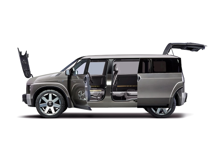 2017 Toyota Tj Cruiser Concept Exterior Side Profile Doors Open