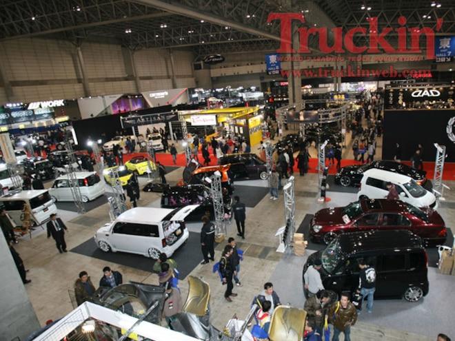 tokyo Auto Salon Vans show Floor