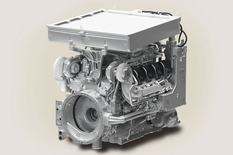 The MTU 8V 199 Diesel Engine for the Scout SV Armored Fighting Vehicle - Torque