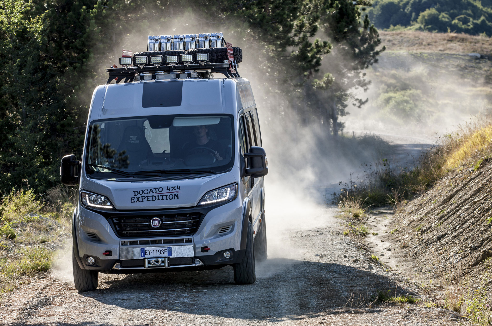 Fiat Ducato 4x4 Expedition Camper Show Van Appears At Uk Trade Show