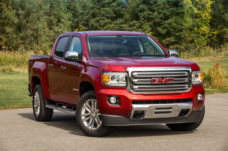 2016 GMC Canyon SLT Diesel Front Three Quarter 04