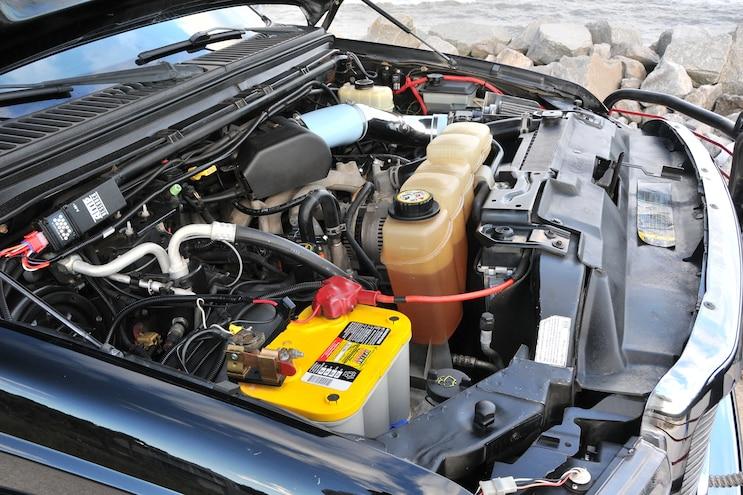 2004 Ford F250 Jacked Up Engine Optima Battery