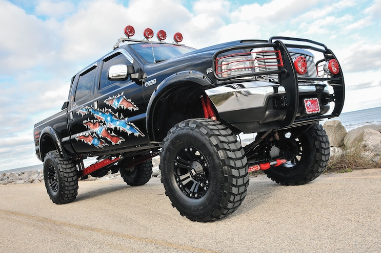 2004 Ford F-250 Super Duty: Jacked Up For A Cause