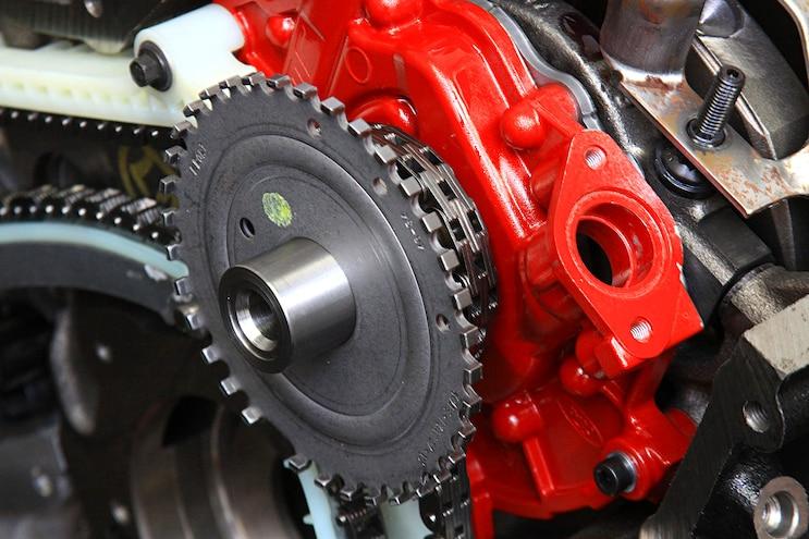 032 Ford Modular 3 Valve V8 Crankshaft Reluctor Wheels