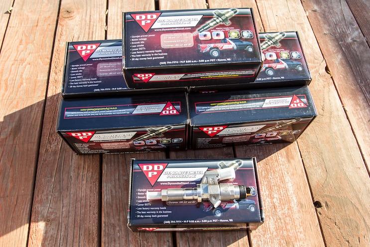 002 Lb7 Duramax Fuel Injector Install