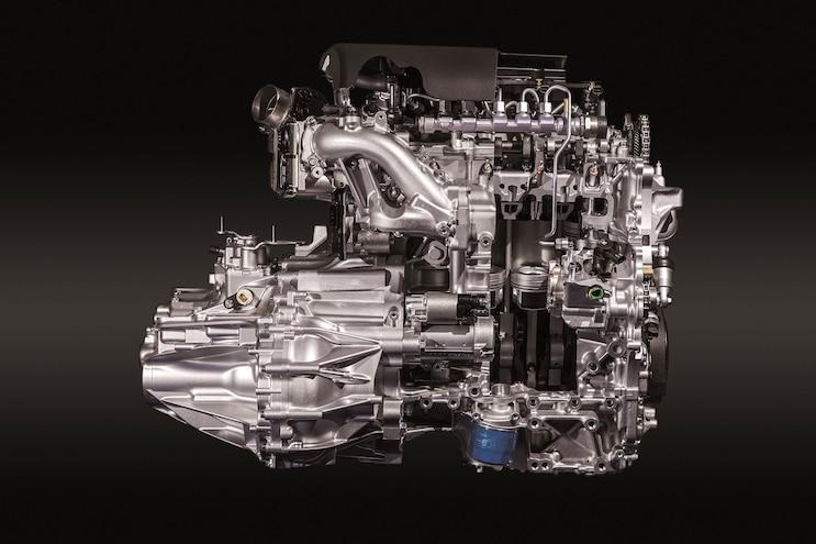 002 Honda 1.6l Diesel Engine Intake Side View