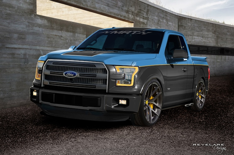Ford Bringing Seven Customized F-150 Pickups to SEMA 2015