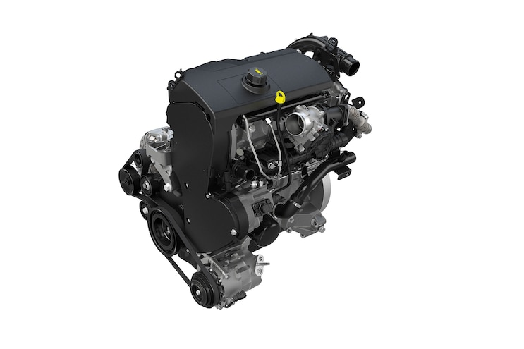005 2016 Ford Transit 3 2L Power Stroke Diesel Engine Front View