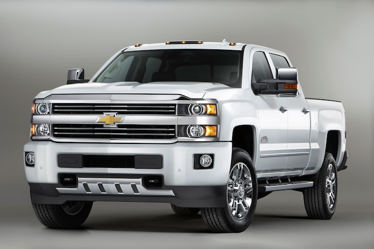 007 2016 Chevrolet Silverado 2500HD High Country Diesel Front View