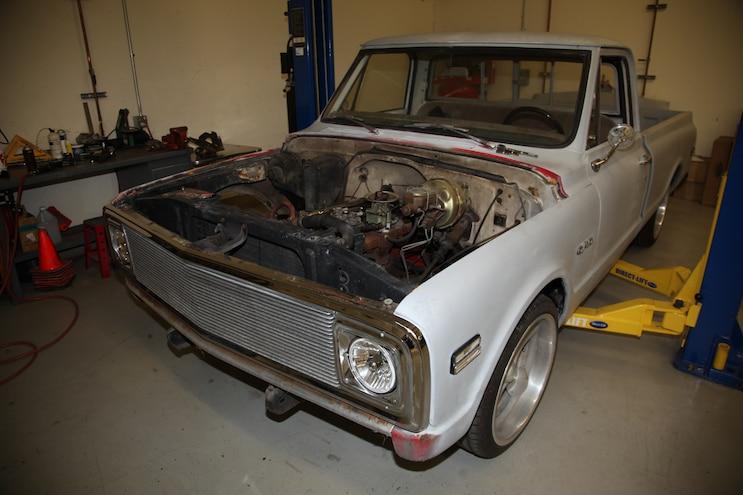 1969 Chevy C10 Stock Drivetrain