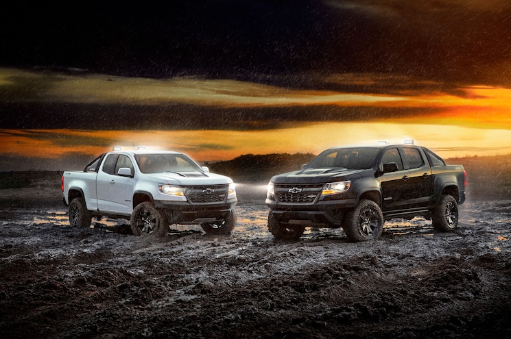 Chevrolet Adds Midnight and Dusk Editions to 2018 Colorado ZR2 Lineup