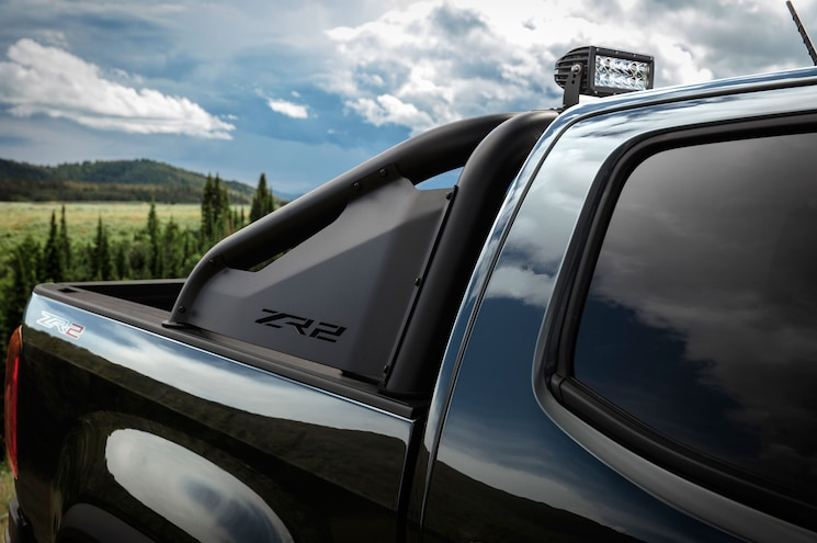 2018 Chevrolet Colorado Zr2 Midnight Edition Lightbar