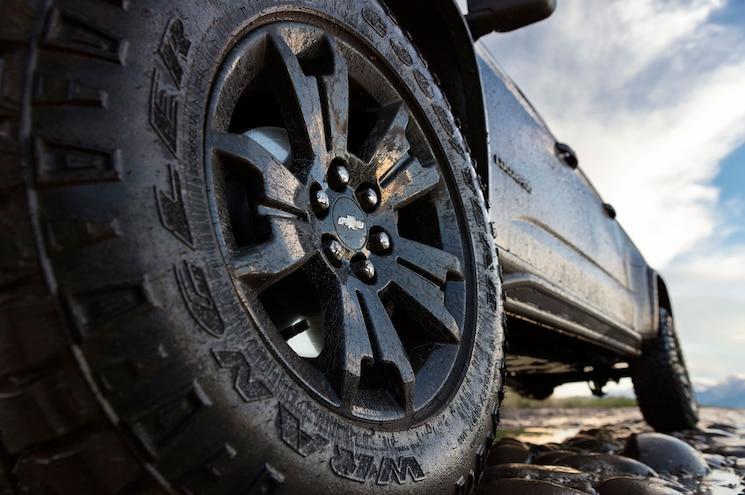 2018 Chevrolet Colorado Zr2 Midnight Edition Wheel