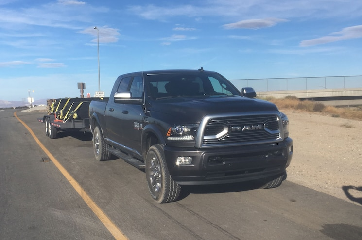 Truck Trend Ptoty 2018 Day 2 001 Ram 3500 Towing Trailer