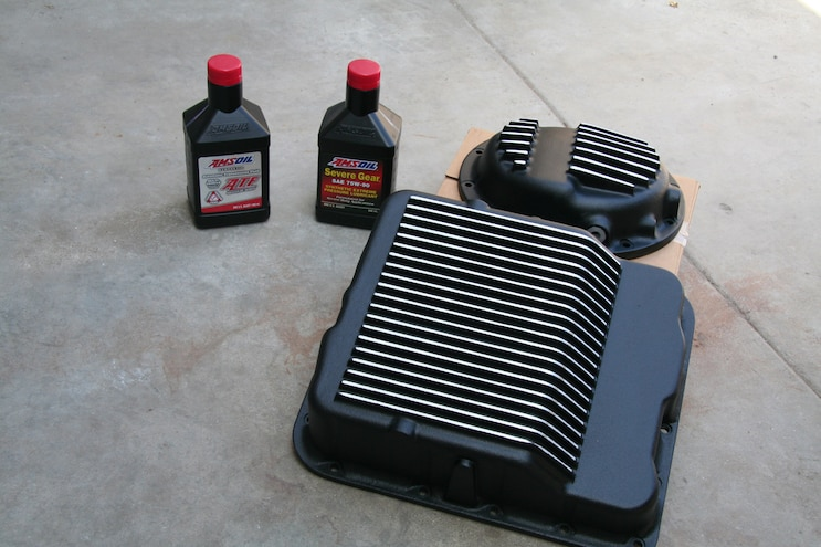 PML Transmission Pan Differential Cover Amsoil Fluids – Beat the Heat