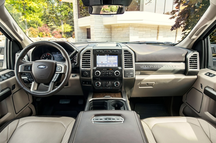 2018 Ford F 450 Super Duty Limited Interior Cockpit