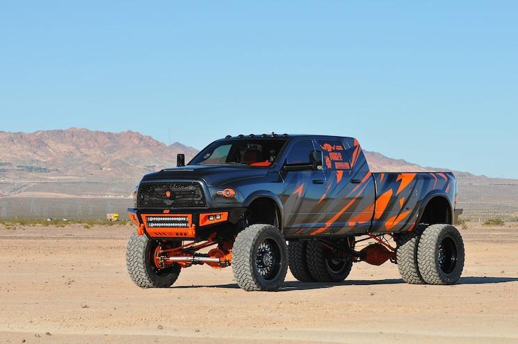 2014 Dodge Ram 3500 Megacab Longbed- Pumpkin Spice