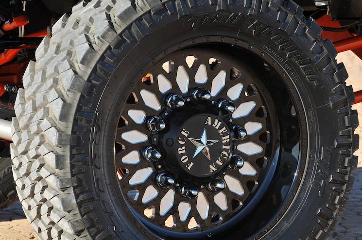 2014 Dodge Ram 3500 Pumpkin Spice Wheel