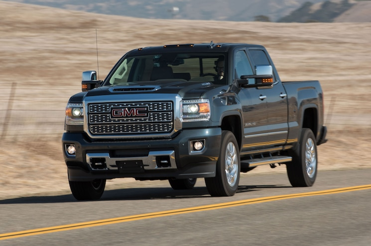 GMC Sierra 2500HD Denali Named 2018 Pickup Truck of the Year