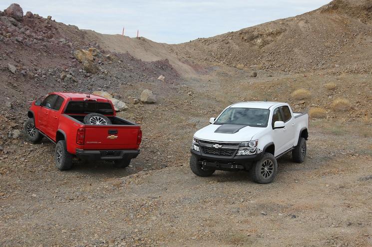 2017 Chevrolet Colorado Zr2 Desert Proving Ground Yuma Dynamite Hill 01