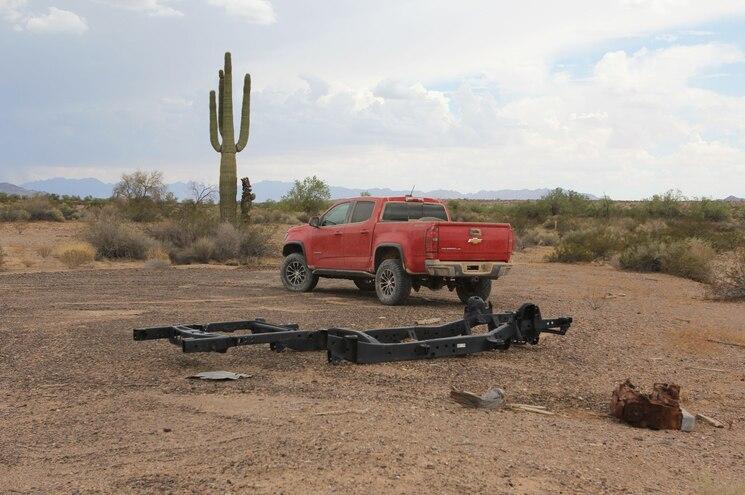 2017 Chevrolet Colorado Zr2 Desert Proving Ground Yuma Saguaro Trail Graveyard 00