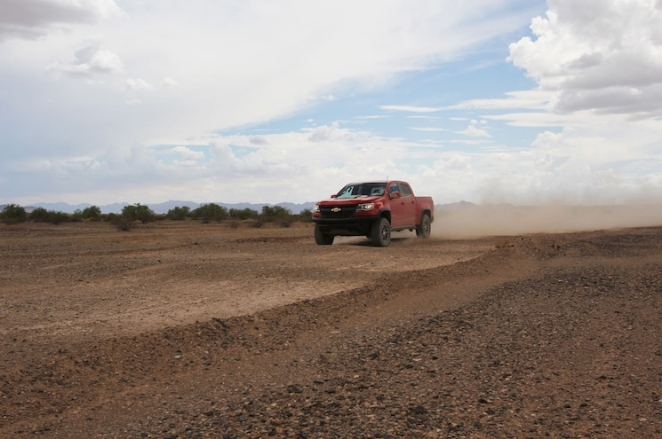 2017 Chevrolet Colorado Zr2 Desert Proving Ground Yuma Saguaro Trail Washboard 04