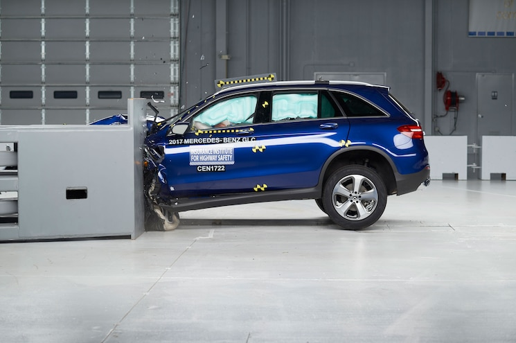 Mercedes-Benz GLC Named Top Safety Pick+ By IIHS