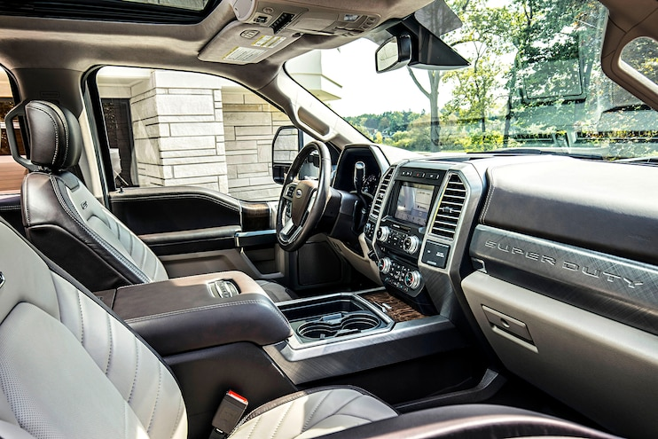 003 Buyers Guide 18fordsuperduty Limited Interior