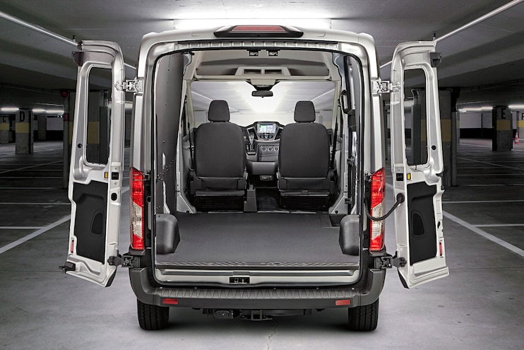Buyers Guide 18 Ford Transit Cargo Van Interior