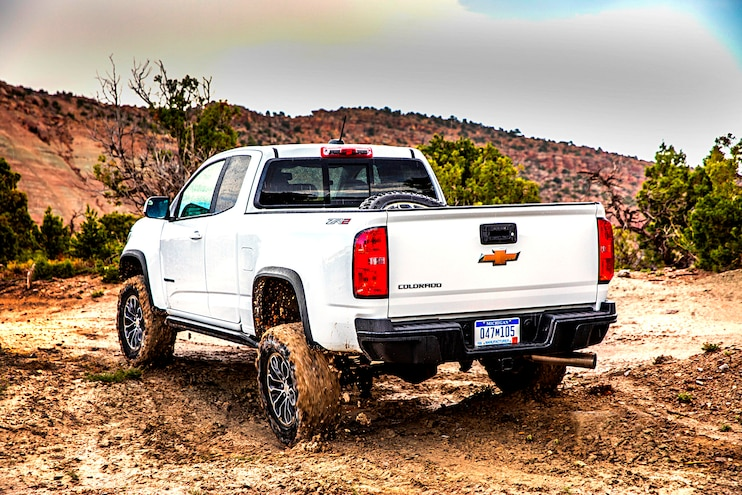 Buyers Guide 2018 Chevrolet Colorado Zr2 Rear Driver Side Motion