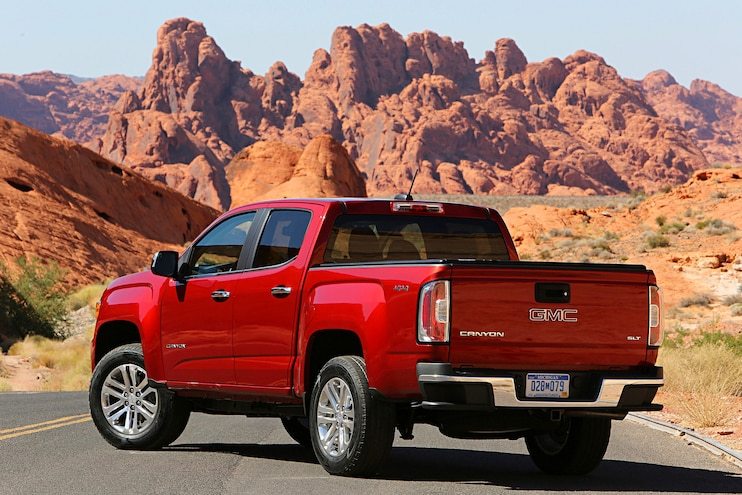 Buyers Guide 2018 Gmc Canyon Rear Drive Side Static