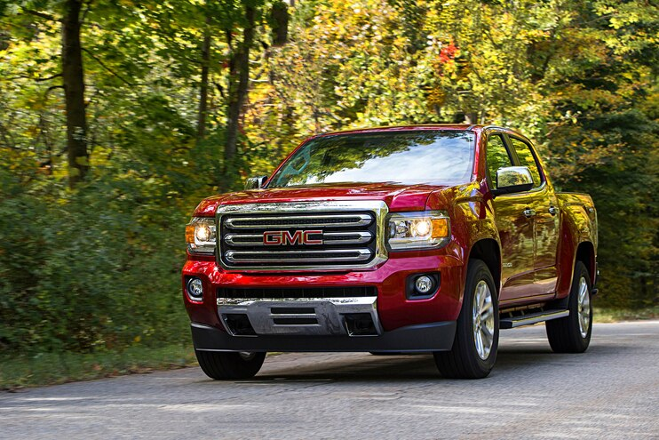 Buyers Guide 2018 Gmc Canyon Front Passenger Side Motion