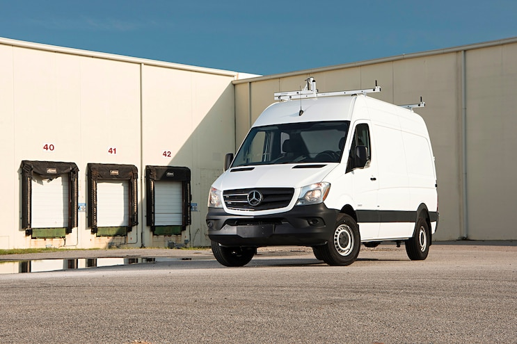 022 Buyers Guide Mercedes Sprinter Front Driver Side Static