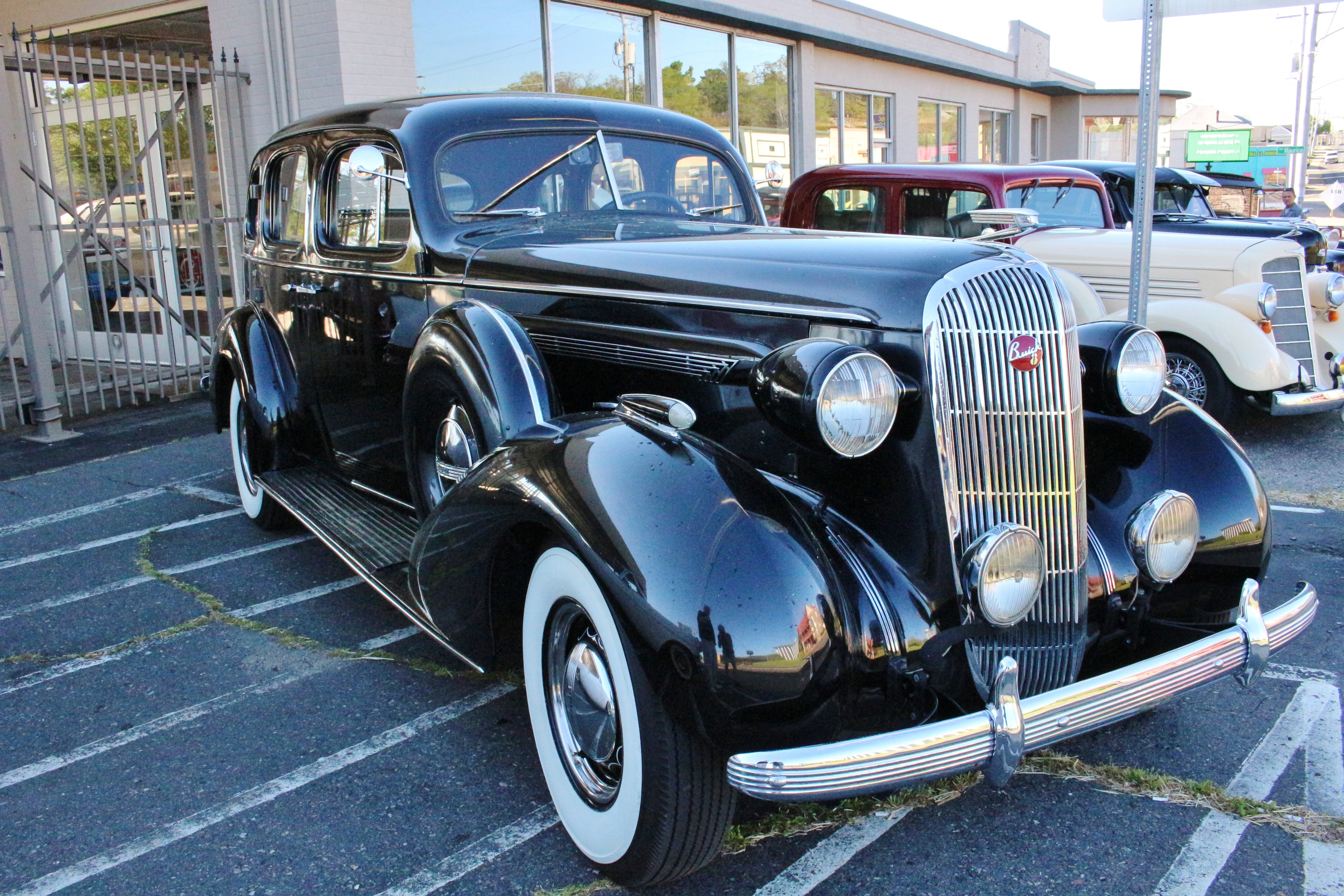 Vintage Hot Springs, Arkansas, And Its Classic Gangster Vehicles