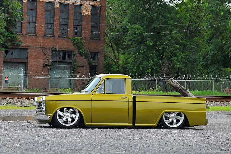 Gold Datsun