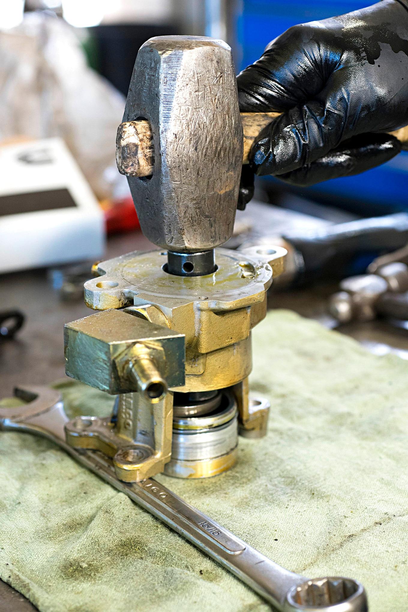 How to Repair Cummins 5.9L Vacuum Pump Oil Leak