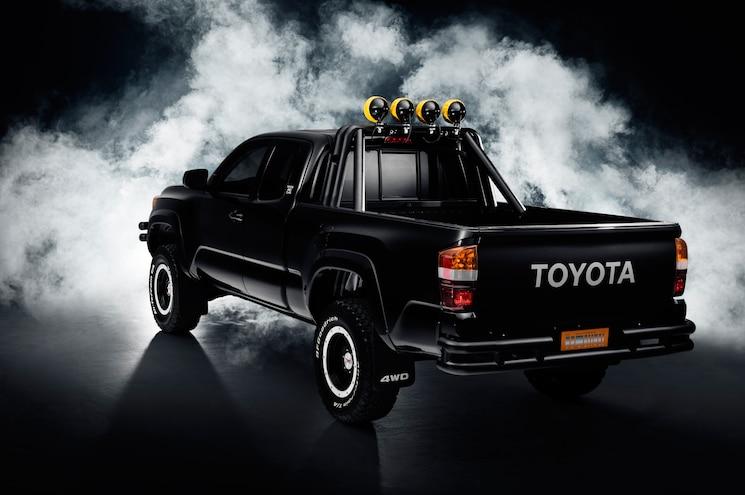 2016 Toyota Tacoma Back To The Future Tribute Truck Rear Three Quarter