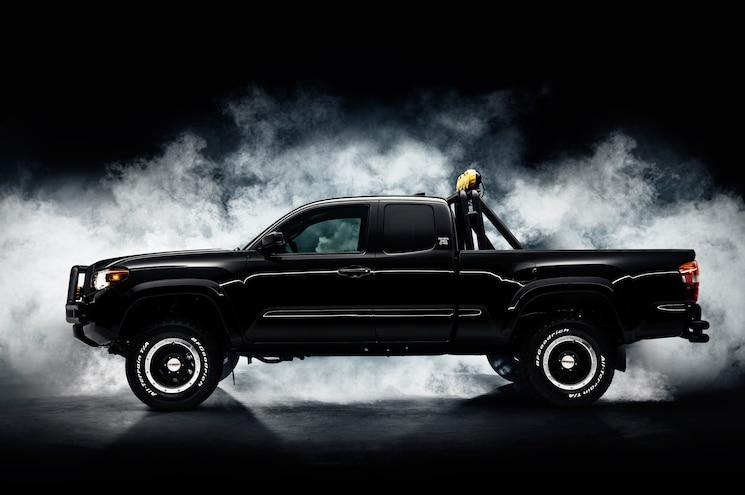 2016 Toyota Tacoma Back To The Future Tribute Truck Side Profile