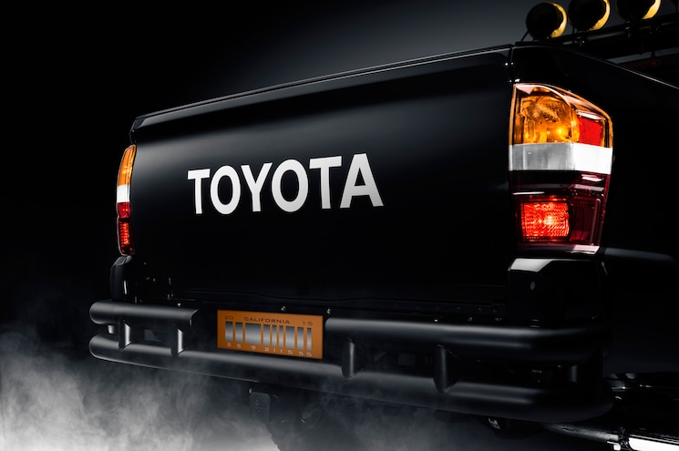 2016 Toyota Tacoma Back To The Future Tribute Truck Rear End