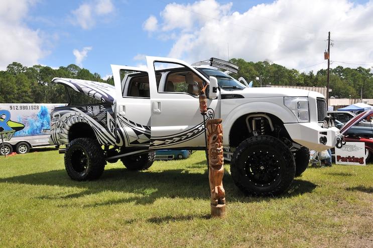 2015 Slamfest Custom Truck Show 11